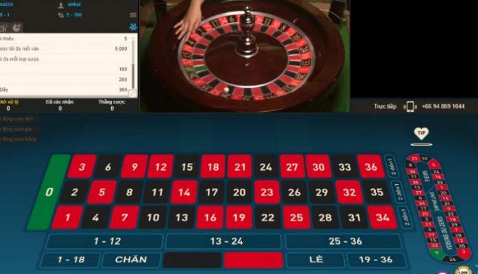 Thuật ngữ khi chơi Roulette
