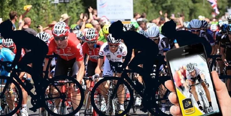 Hướng dẫn người chơi đua xe đạp trực tuyến